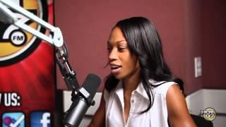Allyson Felix Speaks on Winning Gold, Training, & Competition w/ Cipha Sounds & K. Foxx