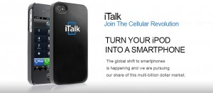 RF Tech Watch: Apple's iTunes App Store approves the iTalkMobile App for iPhone, iPod touch, and iPad