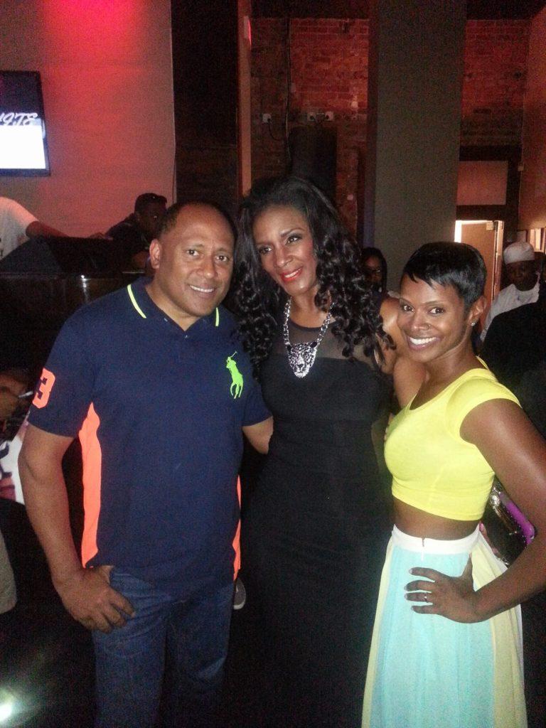 K Michelle Celebrates Album Release Party at Frank Ski's Restaurant 2
