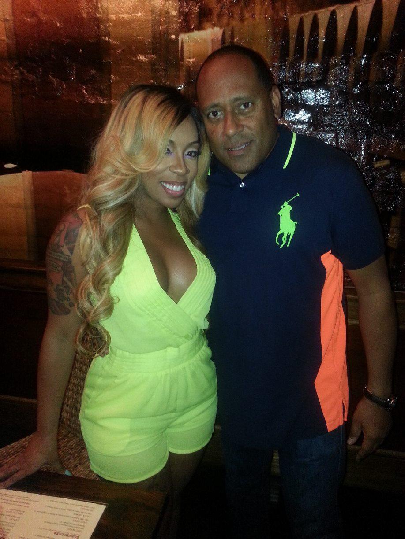 K Michelle Celebrates Album Release Party at Frank Ski's Restaurant 1