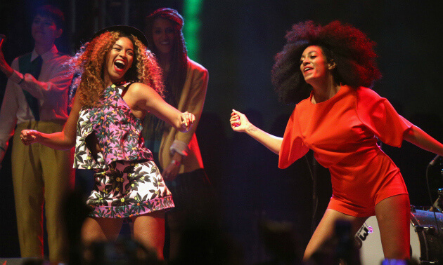 Beyonce Makes Surprise Appearance at Coachella with Solange