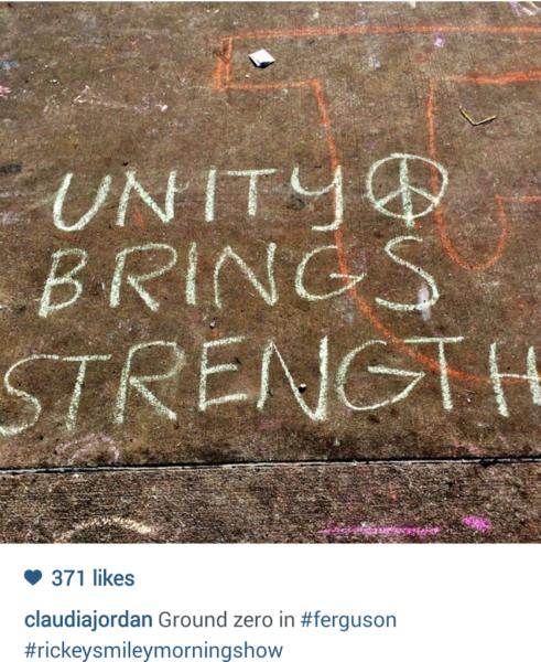 Rickey Smiley Morning Show Represents In Ferguson [PICS] 5