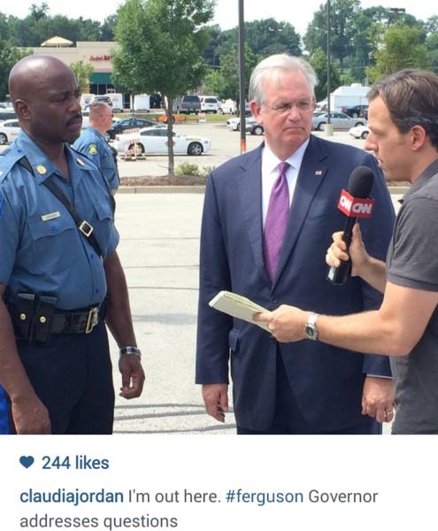 Rickey Smiley Morning Show Represents In Ferguson [PICS] 6