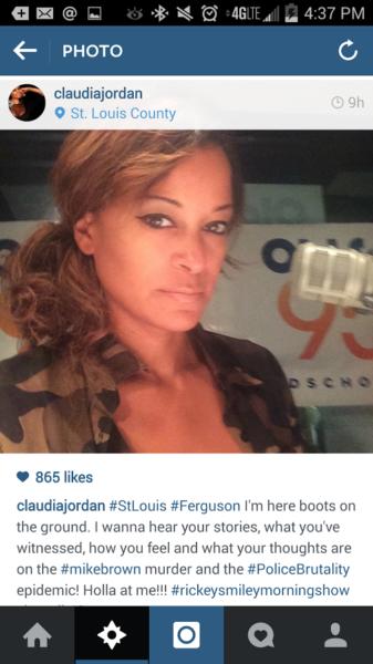 Rickey Smiley Morning Show Represents In Ferguson [PICS] 8