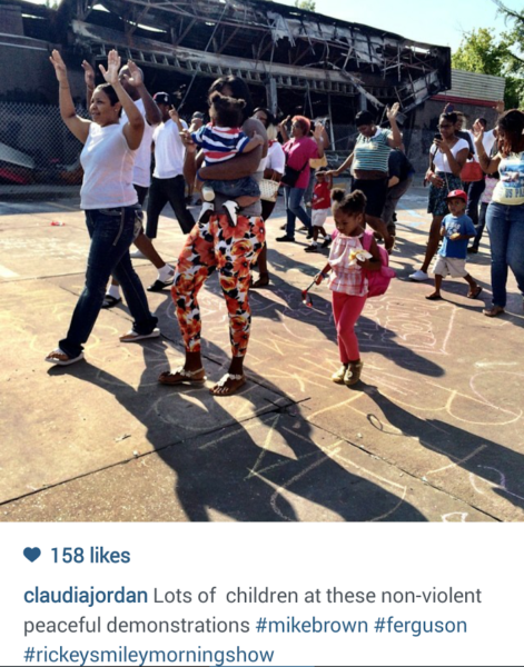 Rickey Smiley Morning Show Represents In Ferguson [PICS] 3