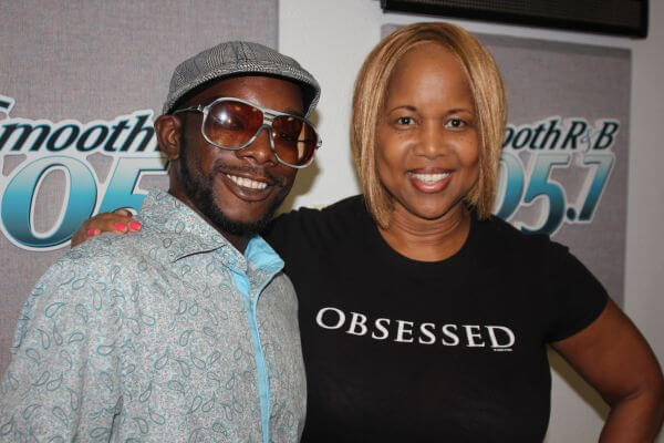 "LOOK! It's KRNB's Lynne ""The Voice"" Haze and Urban Mystic"