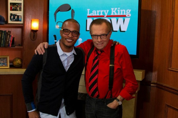 T.I. Doesn't Pull Any Punches with Larry King