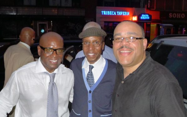 LA Reid, Tony Gray and WBLS PD Skip Dilliard